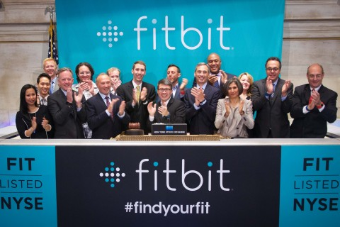 Fitbit, Inc. rings the NYSE Opening Bell to commemorate its IPO and first day of trading on the NYSE. (Photo: Business Wire)