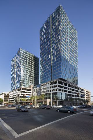 Jerde-designed mixed-user The Vermont in Los Angeles' Koreatown district along the Wilshire corridor. (Photo: Business Wire)