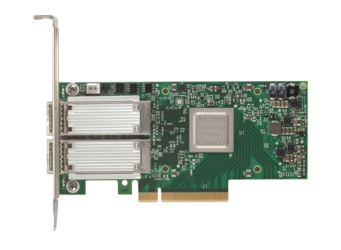 Mellanox ConnectX-4 Lx, the Most Cost-Efficient 25/50 Gigabit Ethernet Network Adapter for Cloud, Web 2.0 and Enterprise Data Centers (Photo: Business Wire)