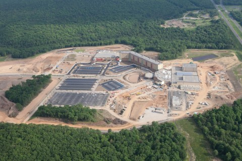 Progress of the newest Kalahari Resorts and Conventions property is right on schedule, with the new location set to open on July 1, 2015 in the Pocono Mountains, Penn. The company's first foray into the East Coast will be home to Pennsylvania's Largest Indoor Waterpark, 457 guest rooms of all varieties, an outdoor waterpark with a huge outdoor pool,a large sundeck for relaxing, indoor/outdoor whirlpools and a swim-up bar, a family entertainment center that includes bowling, mini-golf and a 5D theater, a 100,000 sq. ft. convention center, three full-service signature dining experiences, 6,000 sq. ft. of retail shops and more. Now taking reservations - you can find more information at www.KalahariResorts.com/Pennsylvania. (Photo: Business Wire)