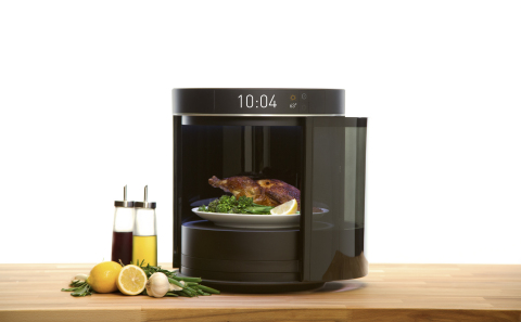 Freescale's breakthrough cooking appliance concept will enable fresh, chef-quality meals at home with virtually no effort or prep time. (Photo: Business Wire)