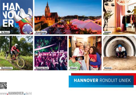 Met een groots opgezet reclameoffensief maakt Hannover Marketing und Tourismus GmbH (HMTG) het publiek in Nederland warm voor een bezoek aan de Leine-metropool. Daarbij staan vooral jonge mensen in het middelpunt die geïnteresseerd zijn in een individuele en stedelijke vorm van toerisme. Meer informatie op www.hannover.de/nl Copyright: HMTG (Graphic: Business Wire)