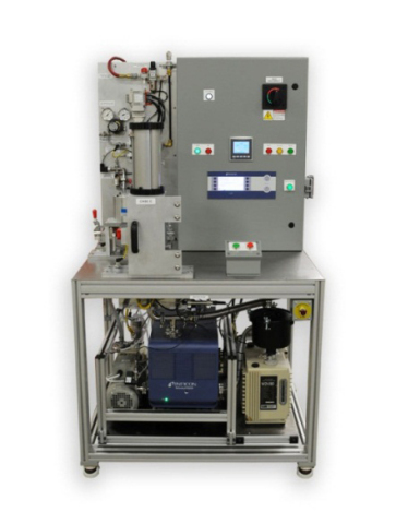 INFICON MODUL1000-based inflator test machine. (Courtesy of LACO)