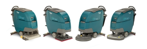 The Tennant T300/T300e Walk Behind Scrubbers (Photo: Business Wire)