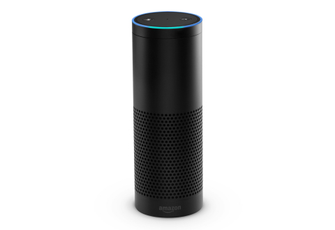 Amazon Echo is a new category of device designed around your voice—it's always on, hands-free, and fast—just ask for information, music, news, weather, and more from across the room and get answers instantly. (Photo: Business Wire)