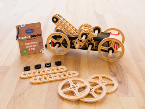 The Maker Studio Construction Sets on Thingiverse allow educators, children, and parents, to transfo ...