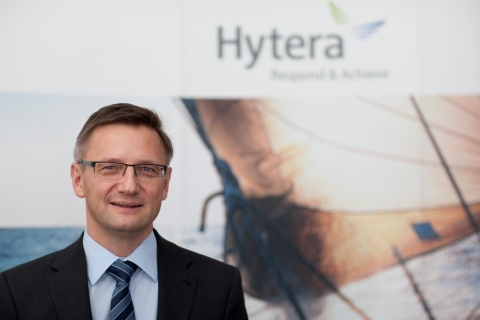 Matthias Klausing, CEO and President of Hytera (Photo: Business Wire)