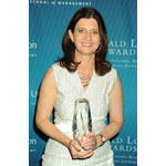 The Gerald Loeb Awards - Rebecca Blumenstein, Minard Editor Award Honoree - Presented by UCLA Anderson (Photo: Business Wire)