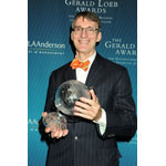 The Gerald Loeb Awards - James Grant, Lifetime Achievement Award Honoree - Presented by UCLA Anderson (Photo: Business Wire)