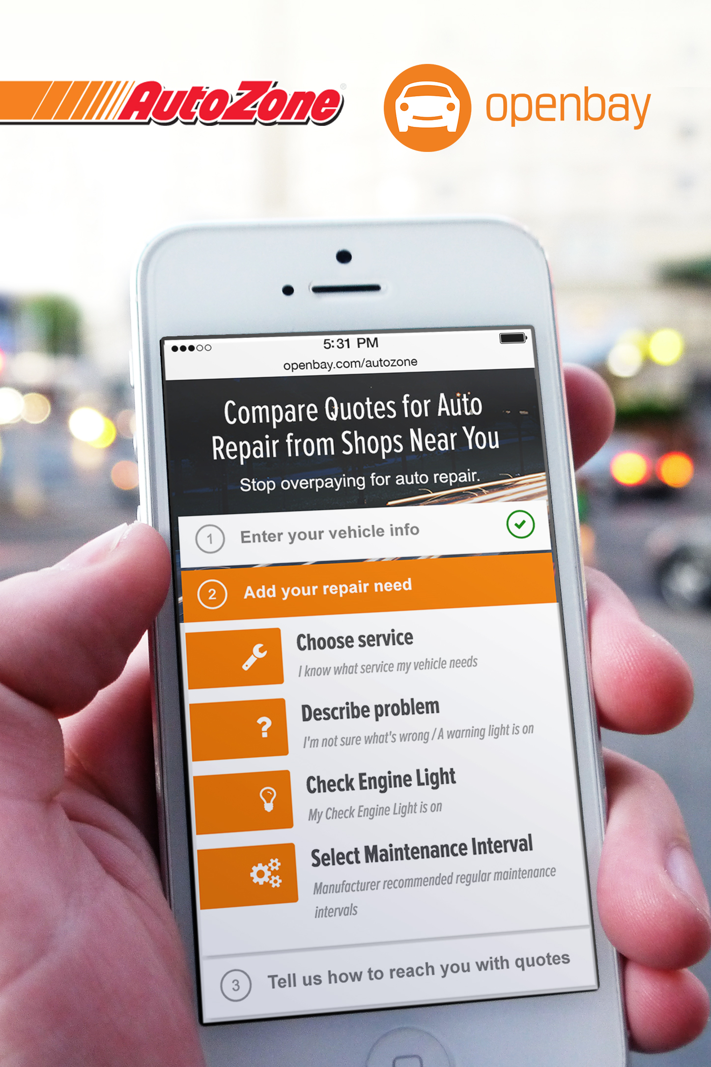 Openbay to Power New AutoZone Online Auto Repair Service | Business Wire