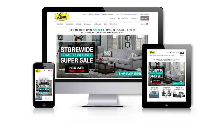 Blueport Commerce Builds New Fully Responsive E Commerce Website For Leonu0027s,  Yielding Impressive Results | Business Wire