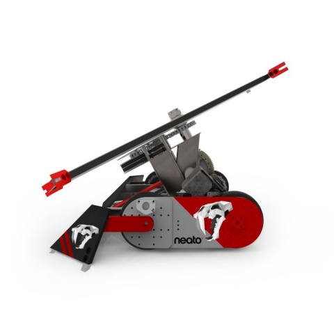 Team Neato's Ghost Raptor robot is competing in ABC TV's BattleBots series on Sunday nights at 9:00/ ...