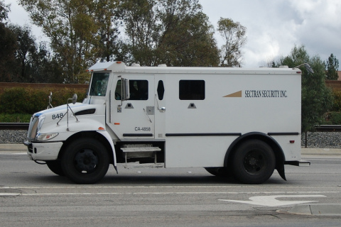 Figure 1. EDI and North American Repower have teamed up to manufacture the first near-zero emission armored security vehicle, which will be on the road in the Los Angeles area in 2016. (Photo: Business Wire)