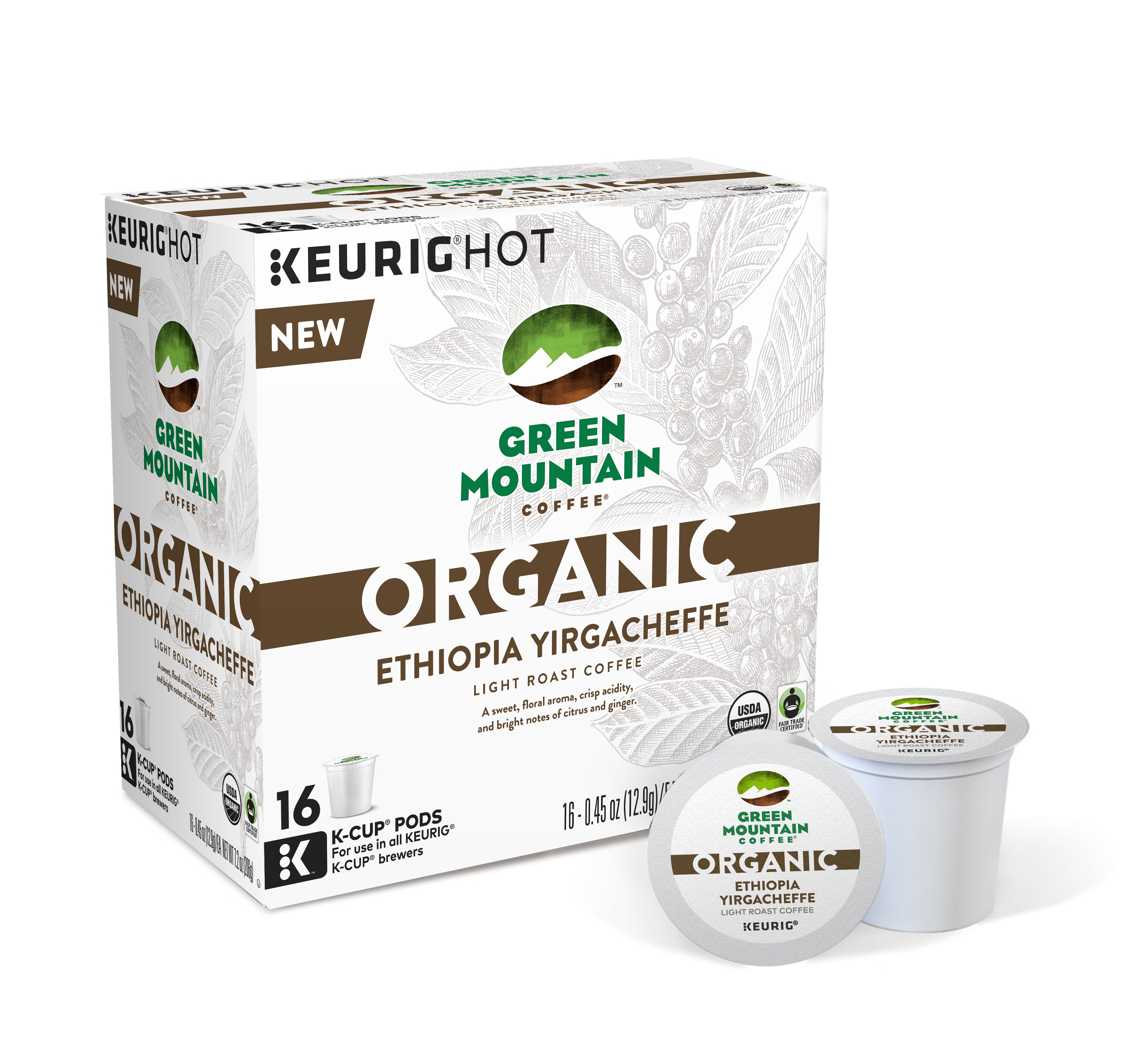 Launches New Double-Certified Organic