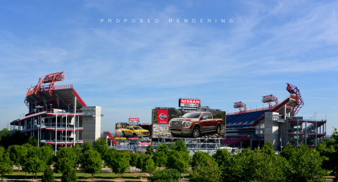 Tennessee Titans announce Nissan partnership; stadium rebranded as Nissan Stadium (Photo: Business W ...