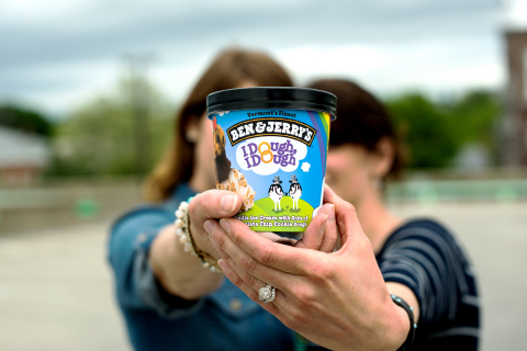 Chocolate Chip Cookie Dough has been renamed to I Dough, I Dough in participating Ben & Jerry's Scoop Shops. (Photo: Business Wire)