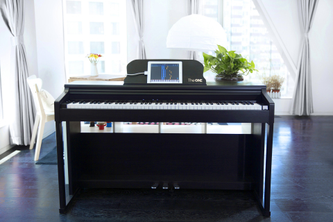 The ONE Smart Piano in Black (Photo: Business Wire)