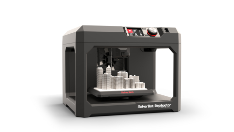The MakerBot Replicator Desktop 3D Printer was among the winners selected from nearly 5,000 entries  ...