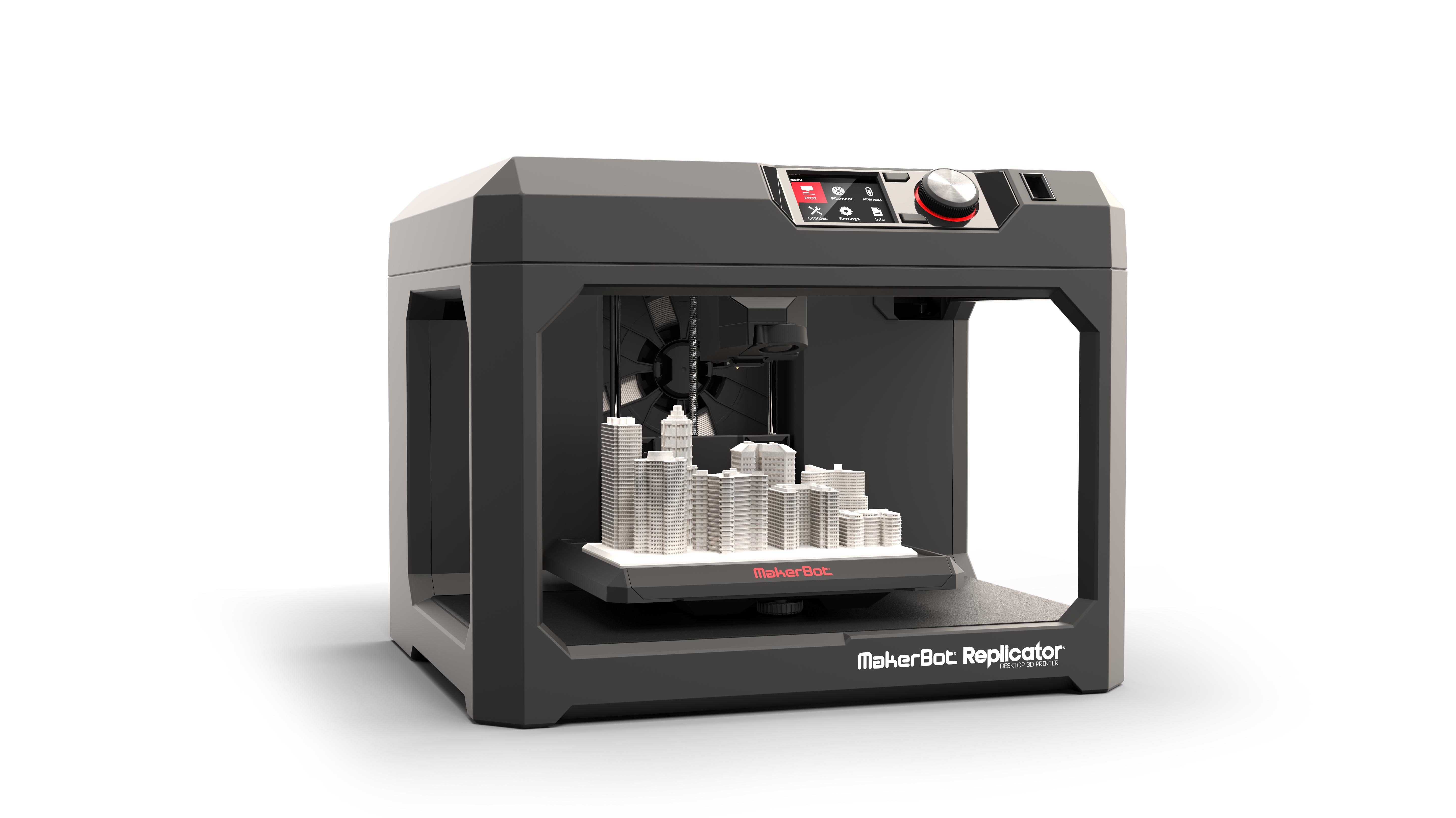 Makerbot Replicator Desktop 3d Printer Wins Red Dot Design Award Business Wire