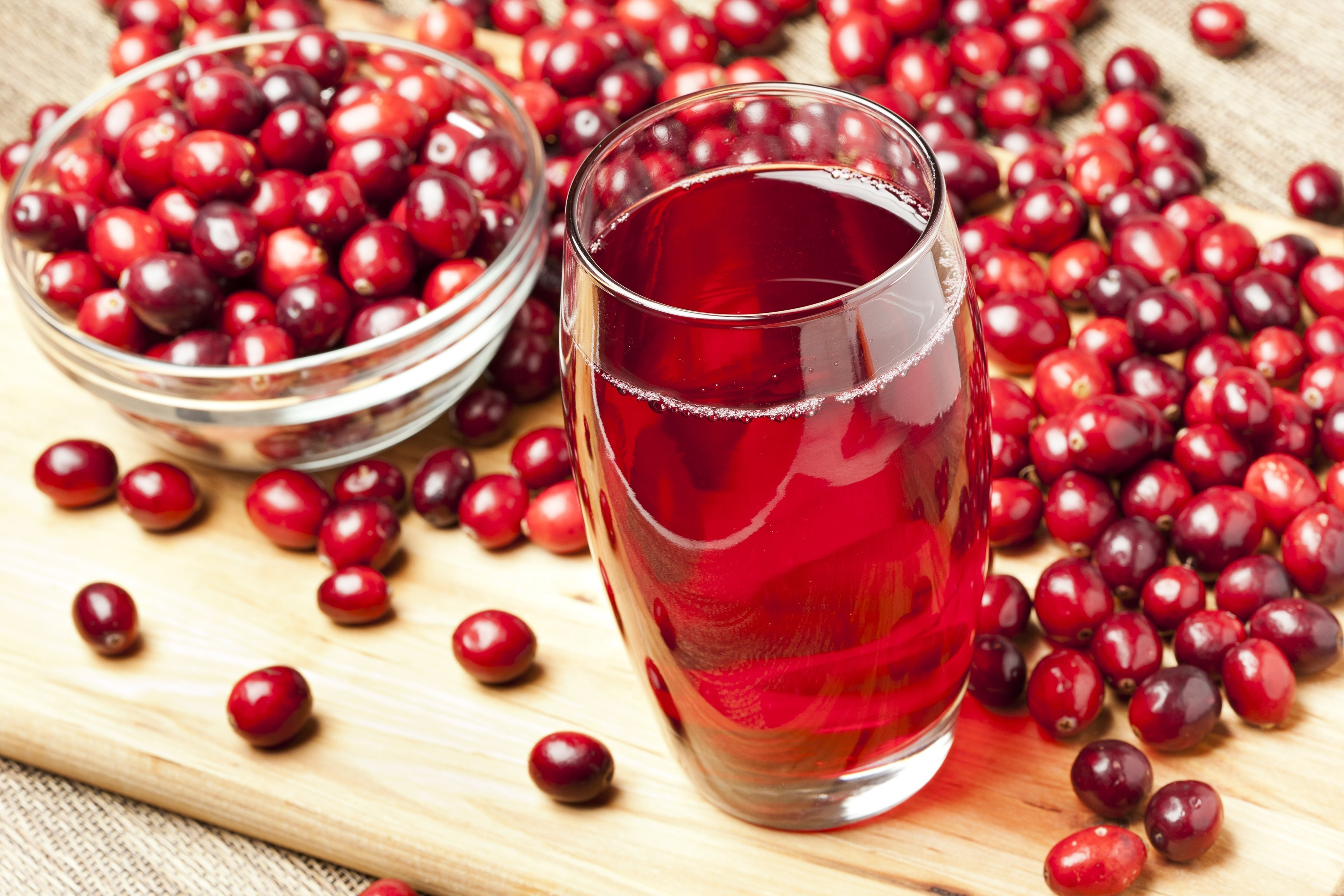 Drink cranberry juice for a healthy heart