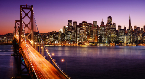 San Francisco Bay Bridge and Waterfront. (Photo: Business Wire)
