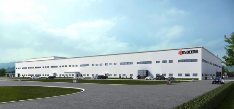 Rendering of the completed KYOCERA Precision Tools (Ganzhou) Co., Ltd. manufacturing plant (Photo: B ...