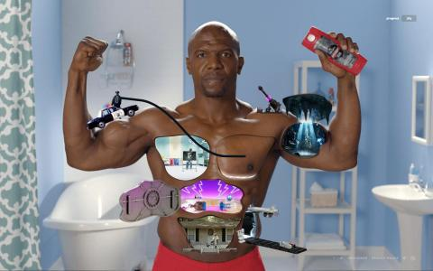 Old Spice debuts Muscle Surprise interactive game in support of the brand's Body Wash and Re-fresh Body Spray products. (Photo: Business Wire)