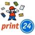 ¡print24.com ofrece descuentos de hasta el 50% en productos de publicidad!