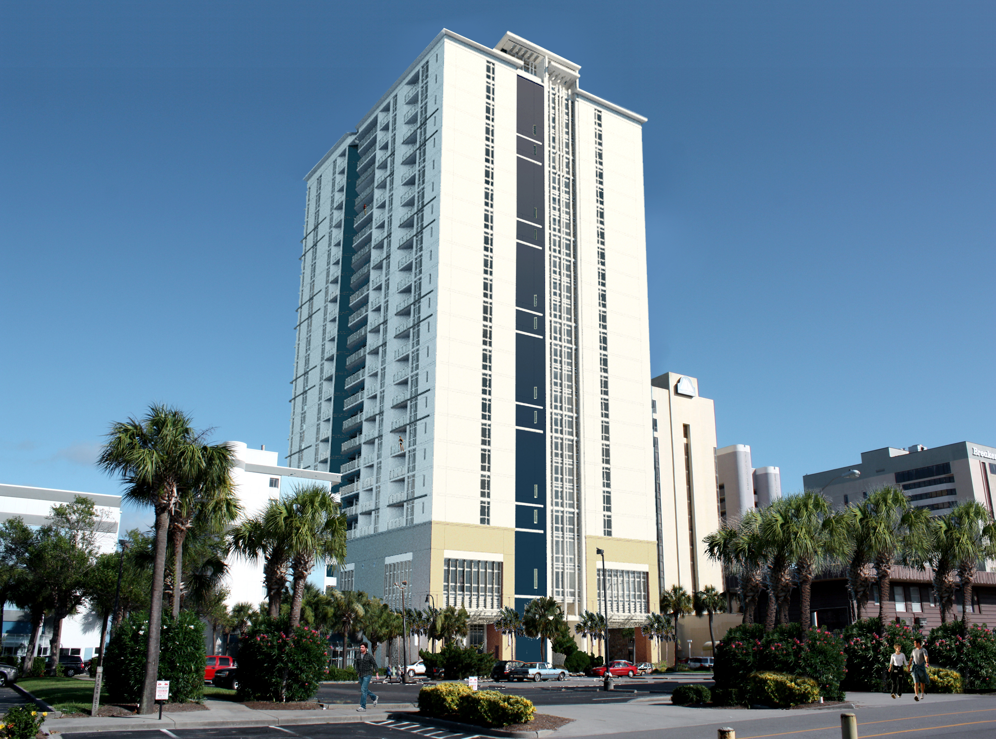 Ocean 22 By Hilton Grand Vacations Club Marks Official Debut In Myrtle Beach South Carolina Business Wire