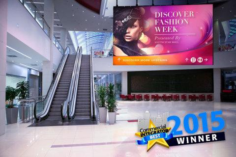 Planar DirectLight - Commercial Integrator Magazine's Best Digital Signage Hardware Award Winner at InfoComm 2015 (Photo: Business Wire)