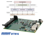 The DT7816 is a real-time, ARM-based data acquisition module providing high accuracy, high speed, simultaneous measurements for applications using Linux. (Graphic: Business Wire)