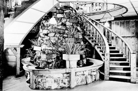 Original Many Glacier Stairway (Photo: Business Wire)