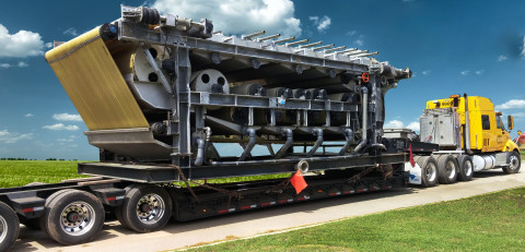 Charleston, S.C.-based Bulldog Hiway Express is merging with the Daseke family of flatbed, open-deck and specialty carriers. Bulldog Hiway Express handles heavy hauls with loads reaching upwards of 180,000 pounds. Bulldog also operates a dedicated open-deck operation; a for-hire open-deck business serving primarily the automotive and energy sectors (wind, solar and nuclear power); and an intermodal operation with freight movements associated with ports in the Southeast. The company, which is almost 100 percent asset-based, makes deliveries throughout the United States and Canada. (Photo: Business Wire)