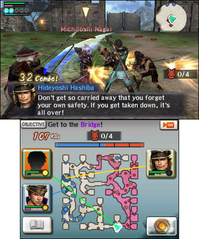 Developed to celebrate the franchise??s 10-year anniversary, Samurai Warriors Chronicles 3 incorporat ...