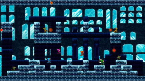 In Roving Rogue, the multiplayer platforming adventure on the Wii U system, the end is the beginning. (Photo: Business Wire)