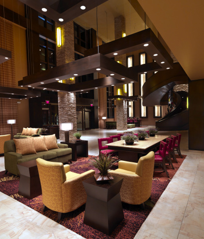 Featured is the lobby of the Bloomington – Normal Marriott Hotel & RiverFront Conference Center in Illinois, one of 23 JQH hotels included in the TripAdvisor® Certificate of Excellence Hall of Fame. The special designation recognizes businesses that have been awarded a Certificate of Excellence for five consecutive years from TripAdvisor, the world's largest travel site*. *Source: comScore Media Metrix for TripAdvisor Sites, worldwide, December 2014 (Photo: Business Wire)