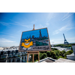 M. Chat interprets #PremiumLiving in Paris to celebrate Prime Day. Prime members can go to amazon.fr/premiumliving to share their own #PremiumLiving moments. (Photo: Business Wire)