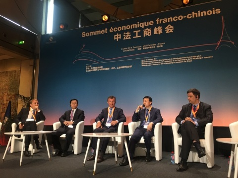 Mr. Shi Lirong at China-France Business Summit in Toulouse (Photo: Business Wire)
