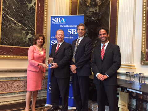 The 2015 Tibbetts Small Business Innovative Research Award was presented to Orbital ATK for its AARG ...