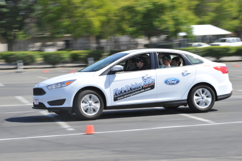 More than 1,500 teens across six states will receive hands-on training at the Ford Driving Skills For Life summer camps. (Photo: Business Wire)
