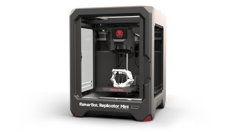 MakerBot Replicator Mini Compact 3D Printer (Photo: Business Wire)