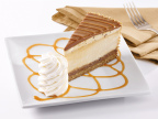 The Cheesecake Factory's New Salted Caramel Cheesecake (Photo: Business Wire)
