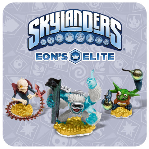 Skylanders® Eon's Elite premium toy line returns this holiday, offering fans the ultimate versions of some of the most iconic heroes. (Graphic: Business Wire)