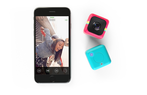 The new Wi-Fi-enabled Polaroid Cube+ is now available for pre-orders at www.polaroidcube.com/cubeplus. (Photo: Business Wire)