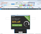 Example of a browser badly affected by add-ons (Graphic: Business Wire)