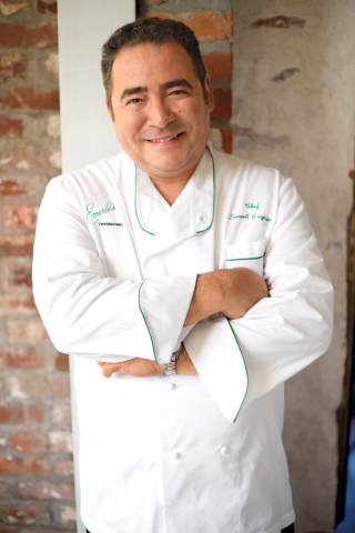 Groupon is running an epic sweepstakes for a trip for two to New Orleans to meet renowned chef, restaurateur and television personality Emeril Lagasse (Photo: Business Wire)