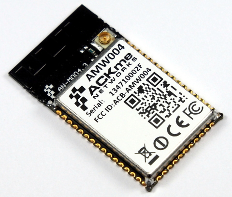 ACKme branded wireless modules surpass the requirements stipulated by the European wireless emission ...