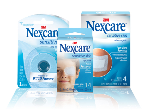 Nexcare Brand from 3M announces the Nexcare Sensitive Skin collection (Photo: 3M)