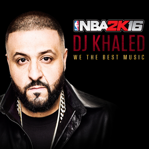 2K today announced that NBA 2K16, the newest iteration of the top-rated video game simulation series for the last 15 years*, will feature the most extensive soundtrack in NBA 2K history with three genre-defining collaborators at the helm - legendary hip-hop producer DJ Premier, renowned producer DJ Khaled, and rap/pop producer DJ Mustard. (Graphic: Business Wire)