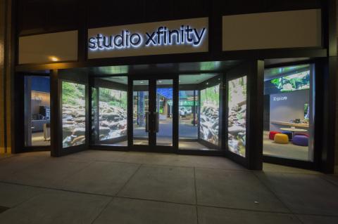 STUDIO XFINITY storefront (Photo: Business Wire)